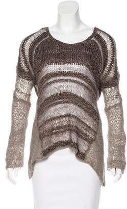 Helmut Lang Silk Knit Sweater