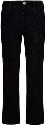 Stella McCartney Logo Skinny Kick-Flare Jeans