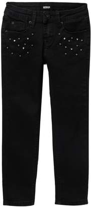 Hudson Embellished Ankle Skinny Jeans (Big Girls)
