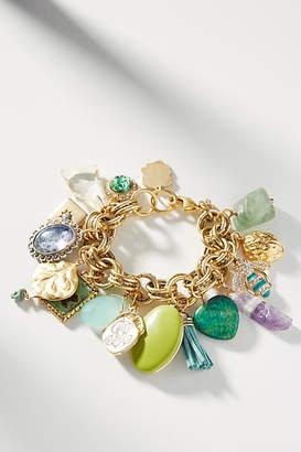 Anthropologie Beryl Charm Bracelet