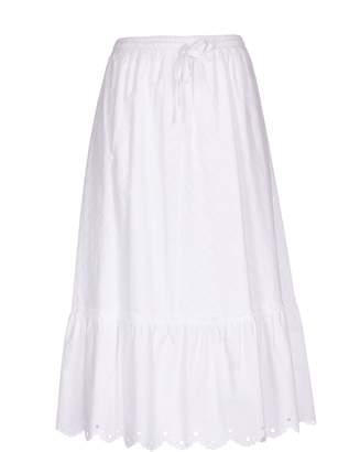 McQ Drawstring Midi Skirt