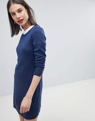 Esprit Round Neck Knitted Dress
