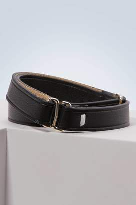 Maison Margiela Lingerie leather bracelet