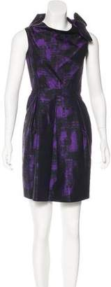 Michael Kors Wool Bow-Accented Dress
