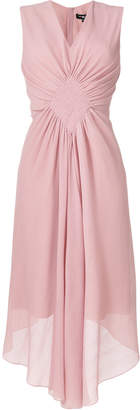 Paule Ka gathered front dress