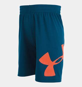 Under Armour Boys' Toddler UA Mesh Logo Striker Shorts