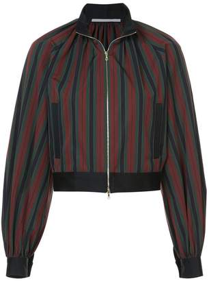 Rosetta Getty cropped bomber jacket