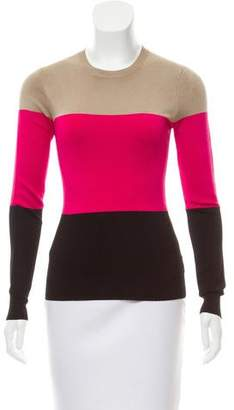 Jonathan Saunders Colorblock Knit Top