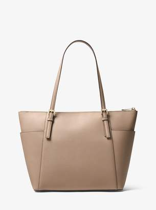 MICHAEL Michael Kors Jet Set Large Saffiano Leather Top-Zip Tote