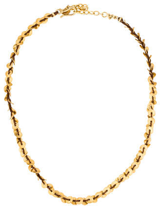 Chan LuuChan Luu Woven Disc Collar Necklace