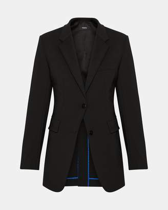 Theory Stretch Nylon Super Cinch Blazer