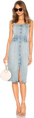 GRLFRND Petra Slim Midi Dress