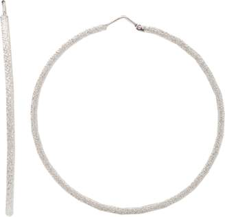Carolina Bucci Medium Sparkly Hoop Earrings