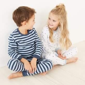 The White Company Stripe Airplane Pyjamas - Set of 2 (1-12yrs)