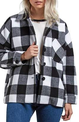 Volcom Check U L8R Plaid Jacket