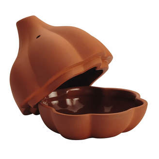 Rachael Ray Cucina Stoneware 4.5In Garlic Roaster