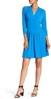 Catherine Malandrino Tinka Pleated Fit & Flare Dress