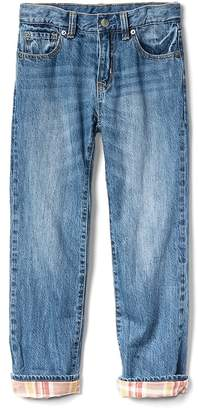 Gap Flannel-Lined Original Jeans