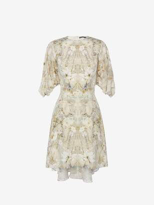 Alexander McQueen Pale Ophelia Mini Dress