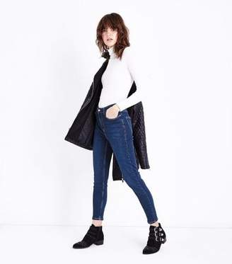 New Look Dark Blue High Rise Super Skinny Dahlia Jeans
