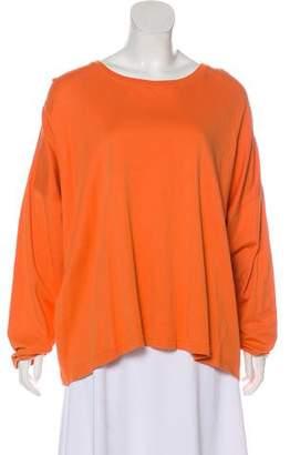 eskandar Oversize Dolman Sleeve T-Shirt