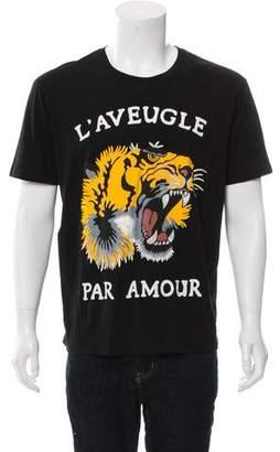 Gucci 2017 Tiger Print T-Shirt w/ Tags