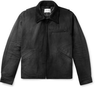 Fear Of God Suede-Trimmed Cotton-Canvas Jacket - Men - Black