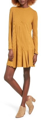 Women's Love, Fire Ribbed Drop Waist Dress $39 thestylecure.com