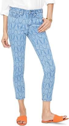 NYDJ Ami Print Ankle Skinny Jeans