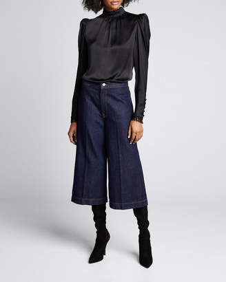 Frame Le Culotte Denim Trousers