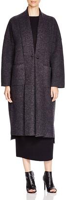 Eileen Fisher Wool Kimono Coat $448 thestylecure.com