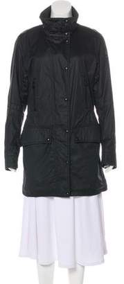 Belstaff Lightweight Knee-Length Coat