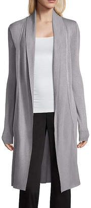 WORTHINGTON Worthington Long Sleeve Cardigan - Tall