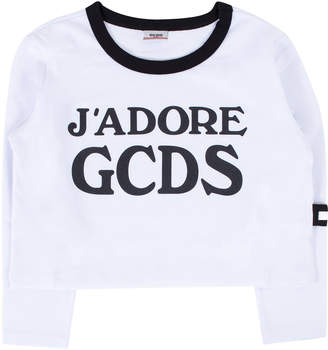 Gcds Mini GCDS Mini Girl Print T-shirt