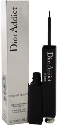 Christian Dior Dior.08Oz #099 Black Addict It-Line Eyeliner Liquide