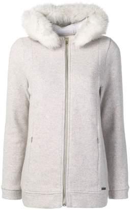 Woolrich zipped-up coat