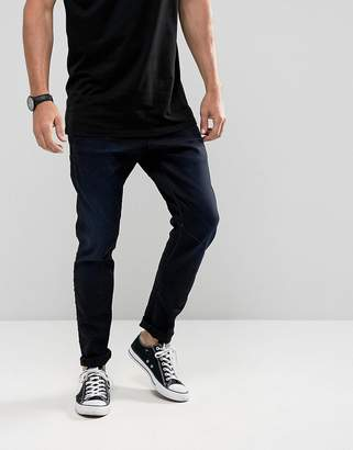 G Star G-Star D-Staq 3D Super Slim Jeans Dark Aged Wash
