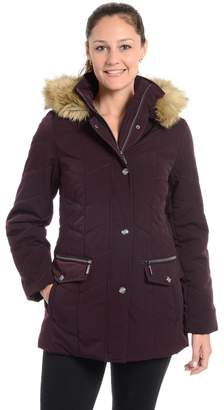Fleet Street Women's Cheveron Quilted Jacket