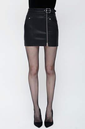 Obey Vegan Moto Skirt
