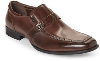 Kenneth Cole Unlisted By Brown Pat On The Back Brogue Loafers