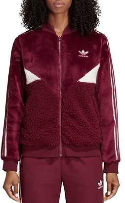 adidas CLRDO Sherpa Fleece Track Jacket