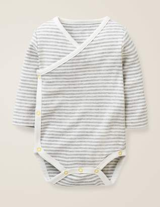 Boden Stripy Wrap Bodysuit