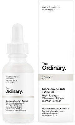 The Ordinary NEW Niacinamide 10% + Zinc 1% 30ml Womens Skin Care
