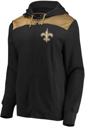 Athena Nfl Women's New Orleans Saints Hooded Full-zip Jacket