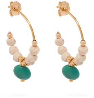 ELISE TSIKIS Eole beaded earrings