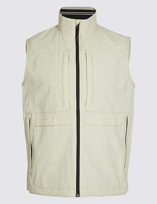 Marks and Spencer Multi Pocket Gilet with StormwearTM