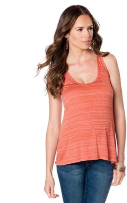 Vince Pea Collection Maternity Tank Top - Striped