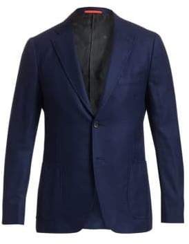 Isaia Cortina Wool-Cashmere Sportcoat