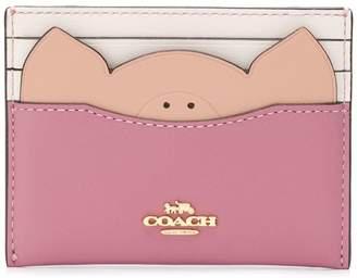 Coach pig cardholder