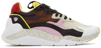 McQ Tan and Pink Daku Sneakers